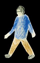 介護者のイラスト