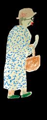 カズヤさんのお母さんのイラスト